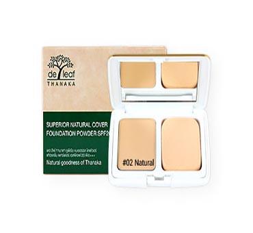 De leaf thanaka superior natural cover foundation powder for Superior foundation